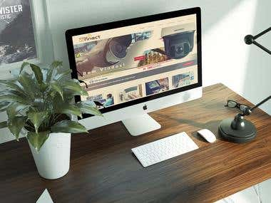 Website Design + Server Configuration