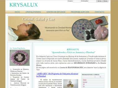 KRYSALUX Site