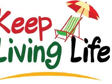Logo Design of Keep living life