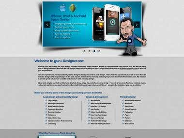 Wordpress Protfolio Site Project