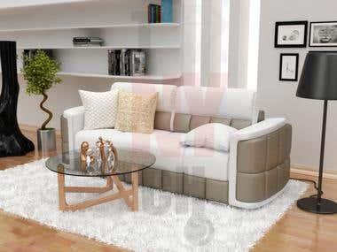 the sofas