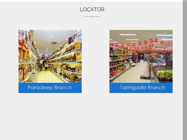 Website Development/SEO - Super Market in Paradeep, India