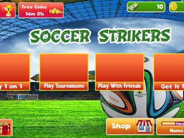Soccer Game Graphics