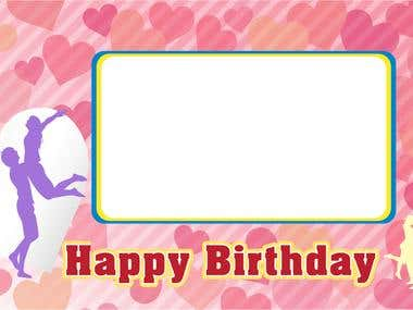 E-card and Banner