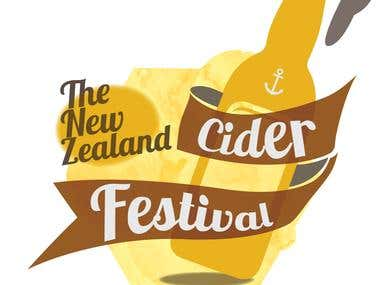 The New Zealand Cider Festival Logo