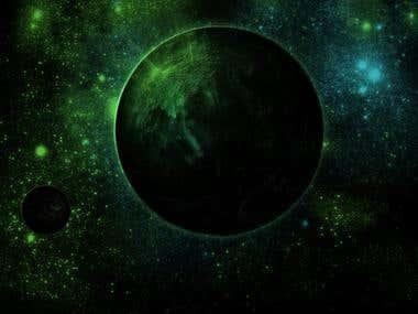 Alien Planet Art