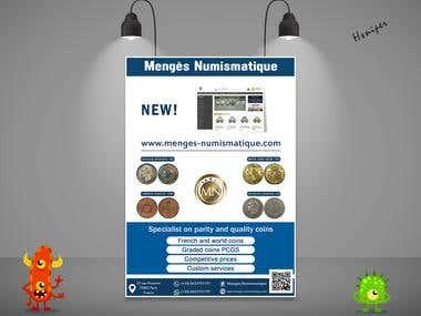 Menges Flyer For Coins