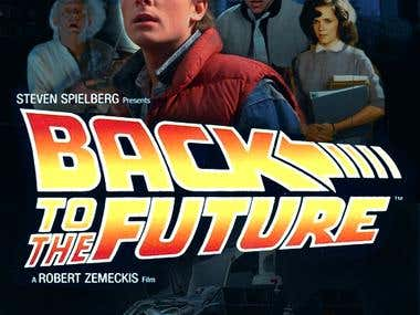 Back to The Future Poster Concept