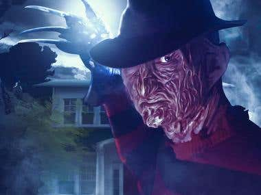 A Nightmare on Elm Street Poster Concept