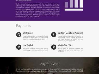 Purplepass Website Design