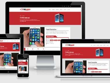 Kaiogen responsive wordpress template