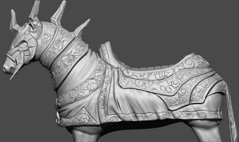 01Heavy Cavalry(horse knight) for ember conflict | Freelancer