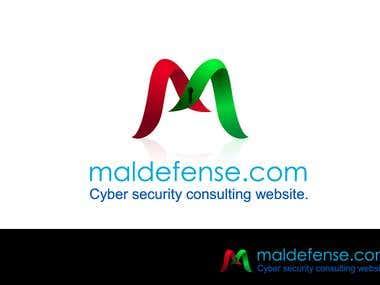 maldefense.com logo design