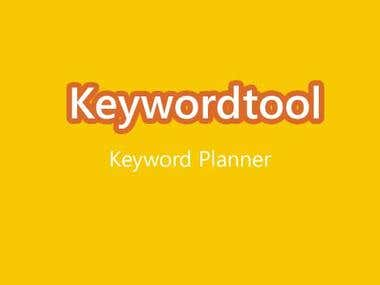 Keyword Planner - Alternative to Google Keyword Tool