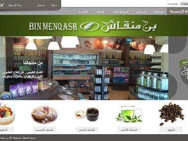 Shopping-Cart based website