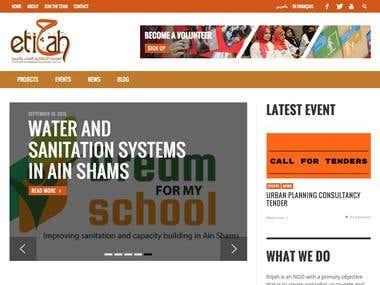Etijah NGO Website