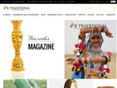 www.betraditional.com  - Indian traditional products