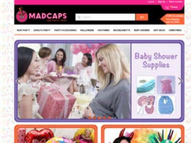 www.madcapspartyshop.com  Indian party items