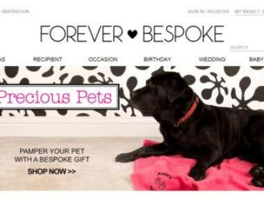 www.foreverbespoke.co.uk - Personalize gift selling UK