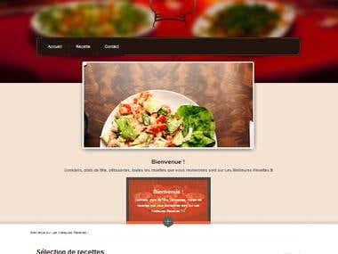 Restaurant Web App