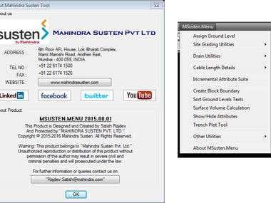 satishrajdev - CAD Engineer ( Autolisp + Visual Lisp Programmer