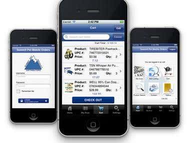 iOS - eCommerce app
