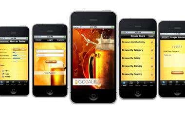 Beer review -iPhone app