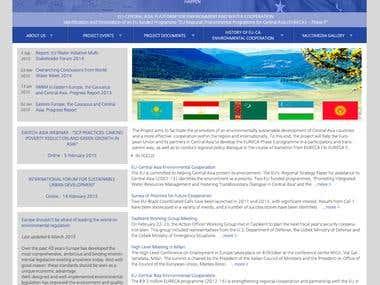 Website on Drupal