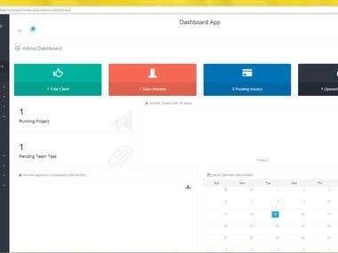 Custom CRM Web application