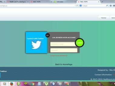 Twitter API integration