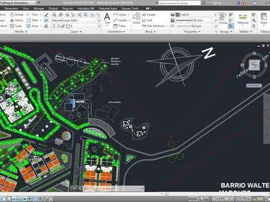 Autocad_Site Design