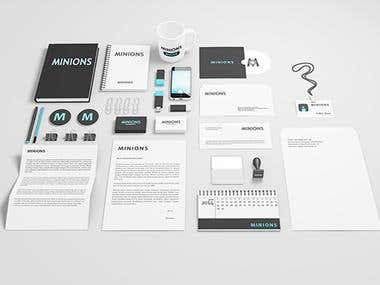 Professional Stationary Design