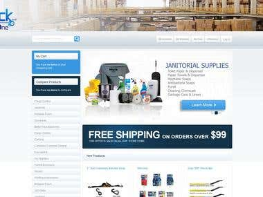 Magento sub stores building and products adding.