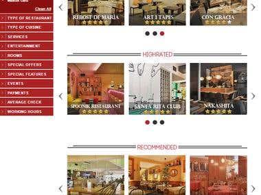 World of Restaurants