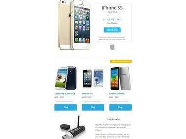 WGI Telecom Email Template