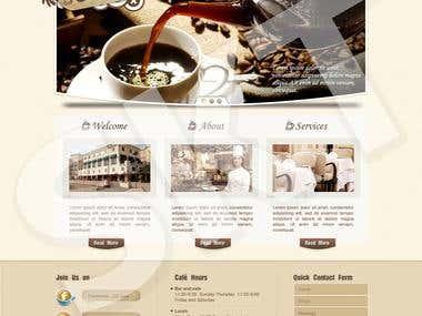 Australian Cafe Website