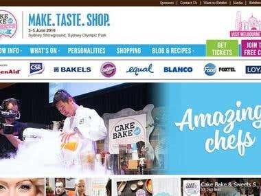 Cake Bake & Sweets