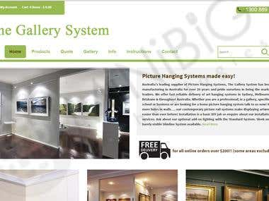 Interior Gallery System