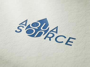 "Logo ""Aqua Source"""