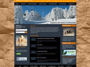 Adventure Travel Website