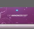 site web dynamique magazine Cap annonce