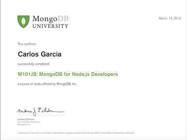 MongoDB for Node.js developers