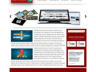 Artisian Blog Design
