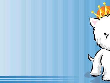 For the contest Illustrate a West Highland White Terrier
