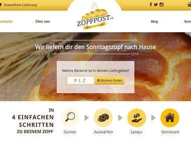 Zopfpost.ch | Design & Entwicklung