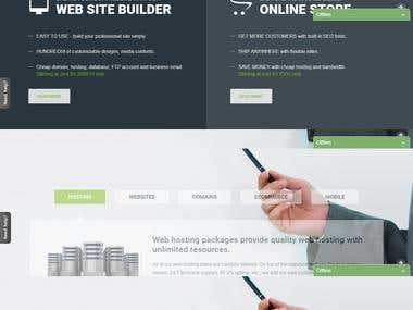 Wordpress website with latest technology