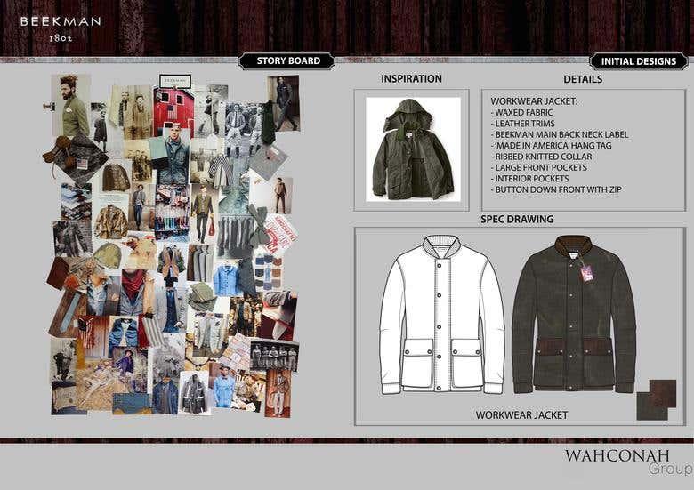 Fashion Design Portfolio The Wahconnah Group Freelancer