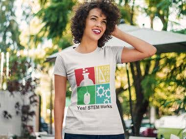 Yes! STEM Works t-shirt