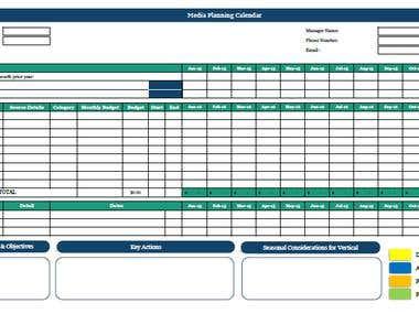 Market Planning & Budget - Multiple User Collaboration