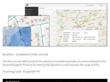 Maps, GIS, Navigation Service